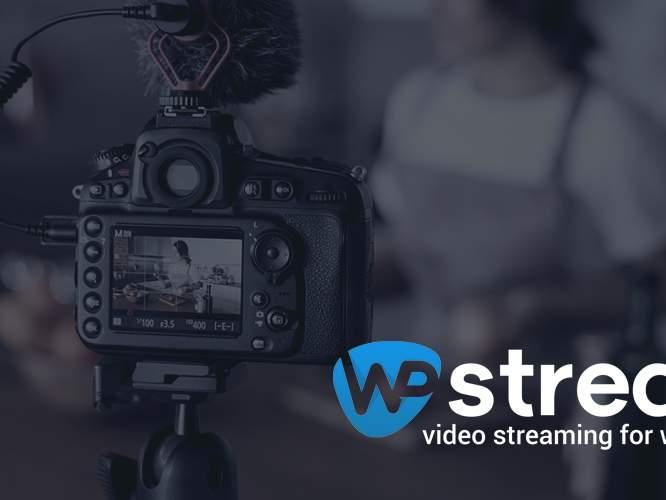 WpStream: video streaming for WordPress