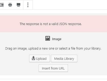 Fixing the Invalid JSON Error in WordPress