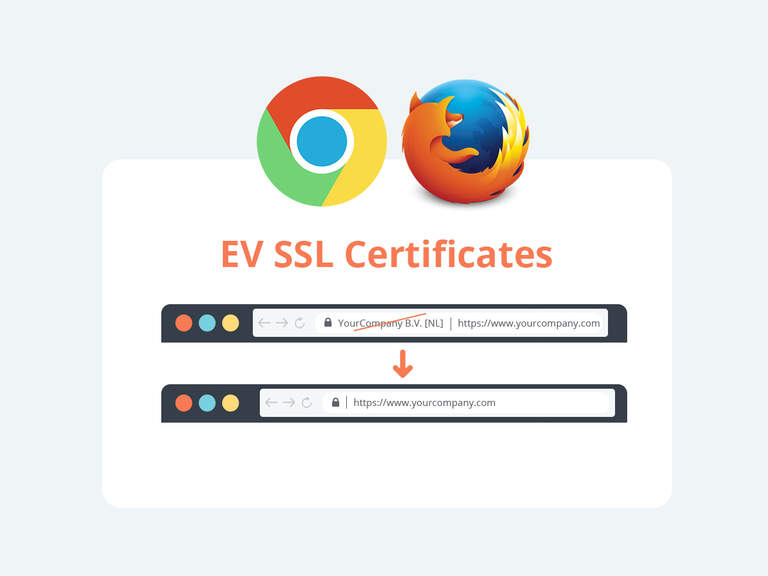 Google and Mozilla to remove Extended Validation signals from desktop browsers